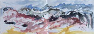 Geknakt/ Harsgeur kleeft/ Koeiestront giert bergfel/ Smeltende sneeuw verdronken gras/ Buizerdroep
